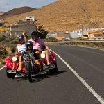 The Trike behind us