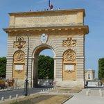 Montpellier's Arc de Triomphe