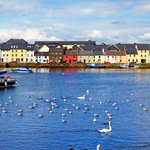 Just a short walk to the Claddagh