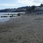 Plaża podczas odpływu