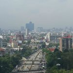 View towards the South of Mexico City