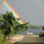 Los arco iris nos recibieron al llegar y hubieron muchos durante nuestra estadía.