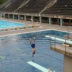 1936 Berlin Olympics swimming pool