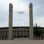 Impressive Stadium entrance