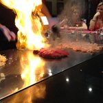 A 'Flaming Good' experience in the Japanese Restaurant