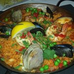 Seafood Paella. Excellent.