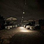 Terrasse bei Nacht....