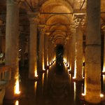 Inside the Cistern - a must see in Istanbul!