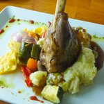 Anglesey braised lamb shank