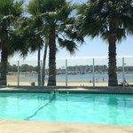 pool view facing beach