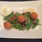 Mozzarella balls (starter)