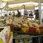 Open Air Market in Campo de Fiori - around corner from hotel