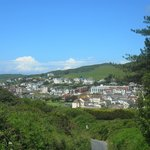 Nearby village of Woolacombe