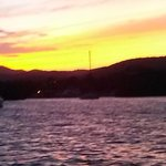 sunset drive to biobay
