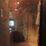 Italian shower in Camille