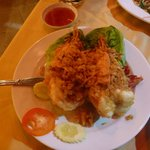 Awsome Tiger prawns in garlic