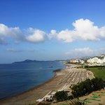 Панорамный вид на побережье