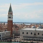 The view to St Marks Square