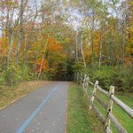 Rec Path and Fall colors