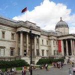 Galería Nacional, vista desde Trafalgar Square