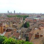 Vue sur le vieux Lyon