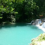 Blue Hole - great stop during our day out in Jamaica!