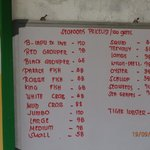 Price Listing