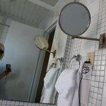 Bathroom- that mirror was fantastic