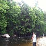 fishing/ swimming area
