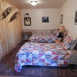 Bedroom #2 in Cabin #3 (twin and double bed)