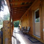 Porch of cabin #3