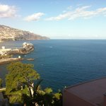 Funchal visto da varanda do quarto