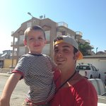 Jayden with Tito :)