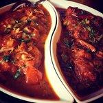 North Indian garlic chili chicken