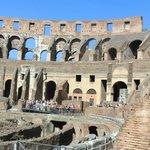 Внутренний вид Колизея