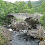 stone bridge at falls