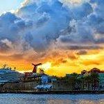 passerend cruiseschip