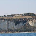 La città antica Minoa Eraclea con il teatro greco, il bosco ed il mare