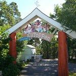 Porten til Kutoppenområdet
