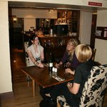 Friends in the Restaurant
