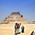 Piramide escalonada de Zoser en Saqqara