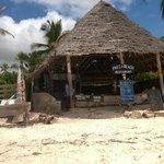 Nearby beach restaurant