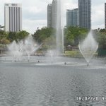 Fountains in KLCC outside area