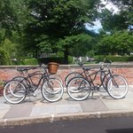 Bicyles at the Inn... just ask and you may use them!
