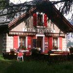 Le Café Alpenblick à Saas Fee
