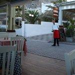 Zorbas Restaurang i Kamari