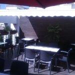 Terraza cafetería