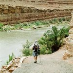 Hiking down to the San Juan River