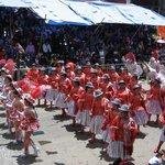 Altiplano cholas dancers