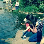 Beautiful lake,lots of ducks to feed